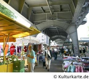 Isemarkt Wochenmarkt In Hamburg Auf